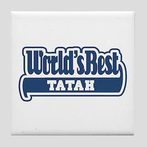 WB Dad [Pipil] Tile Coaster